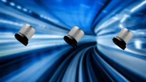 Kleinformatige Versionen der SMD-Hybridkondensatoren HVPF und HVPC von SUNCON.