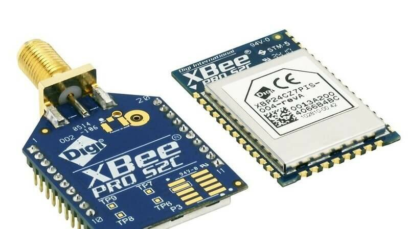 New XBee RF module from DIGI with reduced power consumption and better range.