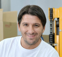 Gordan Hrboka is warehouse manager