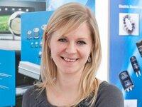 Verena Teinor ist Ihre Ansprechpartnerin in der Abteilung Auftragsbearbeitung/ Materialdisposition.