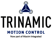 Logo of our supplier TRINAMIC