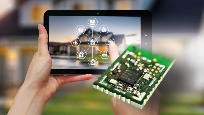 Smart-BLE 5.0 Mesh Module with integrated artificial intelligence from OSB.