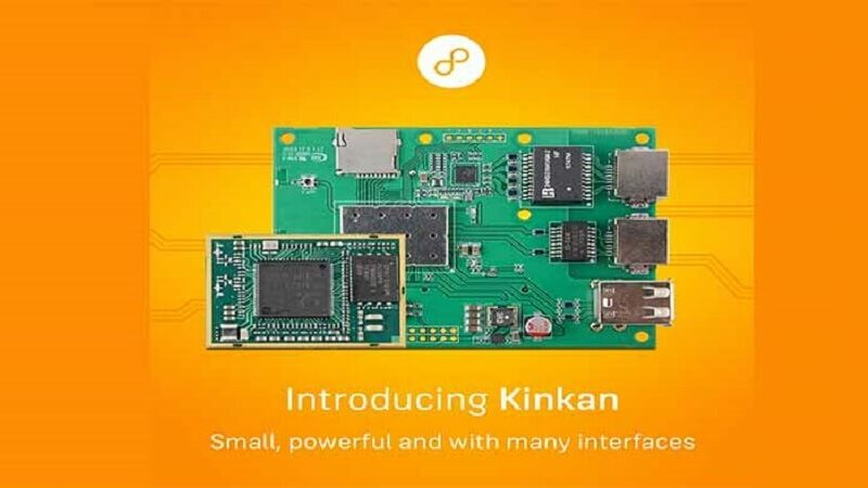 Kinkan Embedded Linux Wi-Fi Module by 8DEVICES.