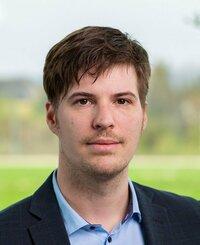 David Dallos ist Leiter Outgoing Goods in der Logistikabteilung.