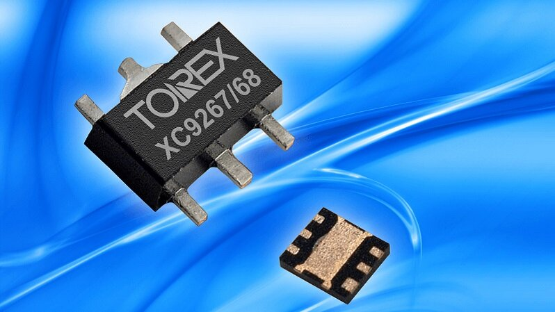 The XC9267/68 series from TOREX - World's smallest 36V synchronous Buck DC/DC.