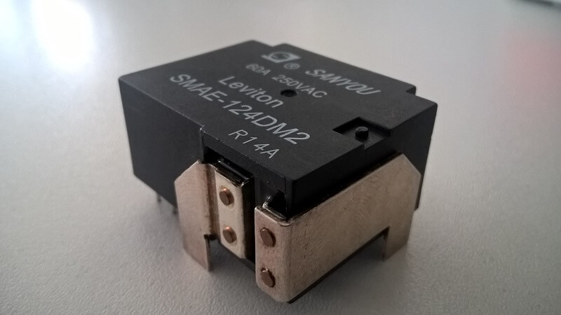 Magnetic Latching Relay SMAE series from SANYOU with a flat design of only 18mm.
