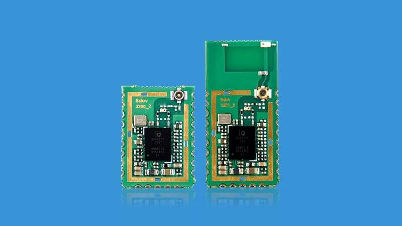 Blue-Bean is a combo-radio-module by 8DEVICES for Wi-Fi and Bluetooth.