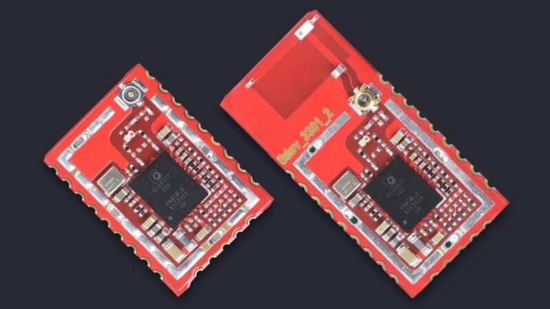 Red-Bean is a radio module for Wi-Fi and Bluetooth by 8DEVICES.