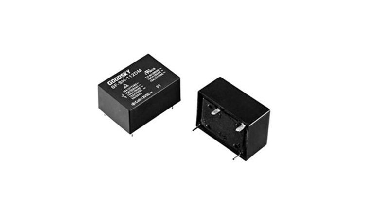 SF by GOODSKY is a powerful 16A relay with a height of only 11mm.
