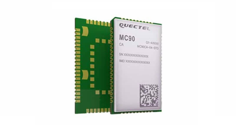 MC90 is a quad-band GSM/GPRS/GNSS/Wi-Fi module.