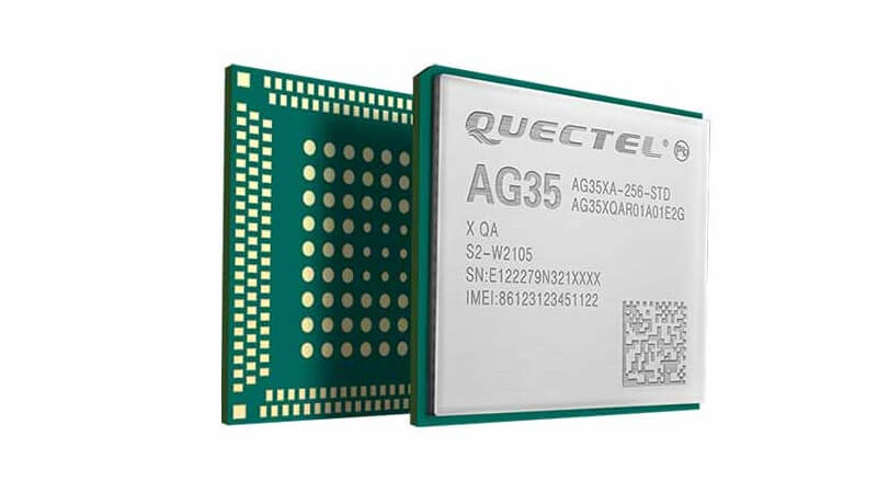 AG35 is a series of automotive grade LTE category 4 module developed by QUECTEL.