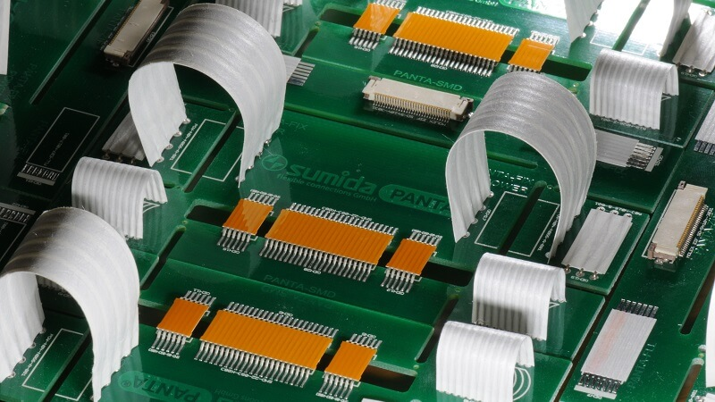 PANTA© SMD from SUMIDA is a flexible connection in surface mount technology.