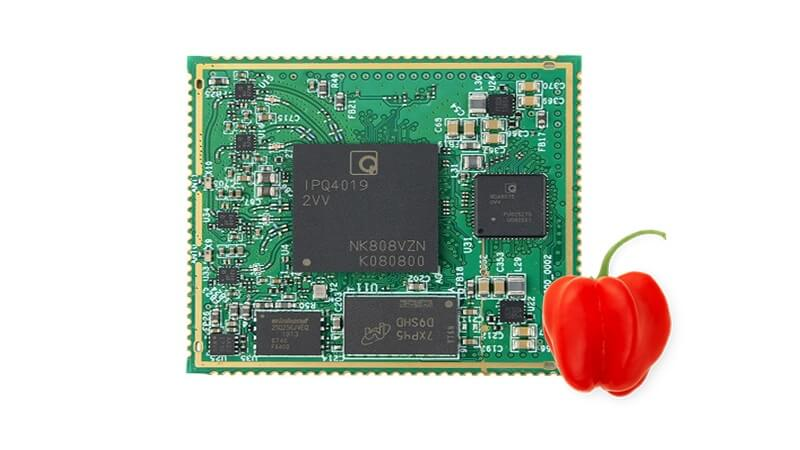 The new Habanero from 8DEVICES is a SOM (System on Module) with high-speed interfaces and high-end security features.