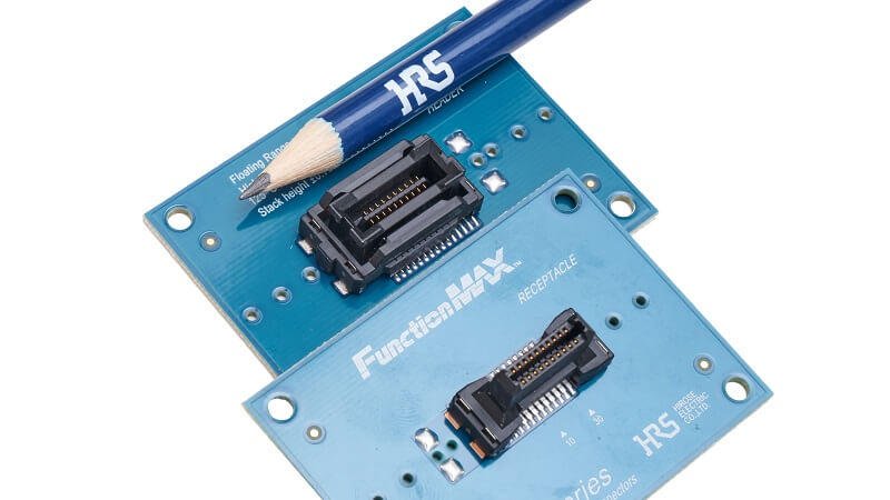 The new FX26 series from HIROSE - Floating board-to-board connectors up to 140°C for high vibration.