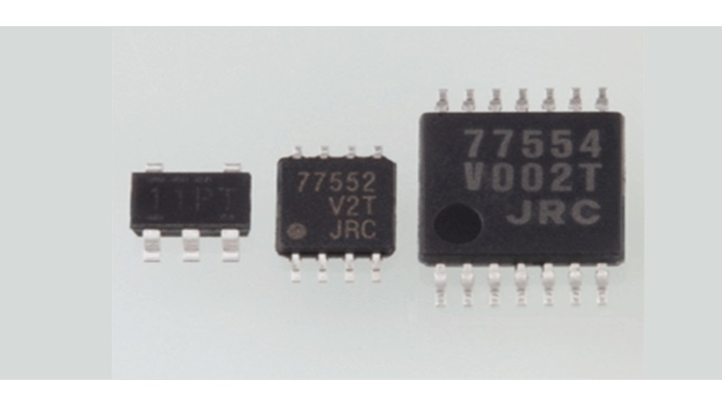 New NJR Rail-to-Rail Input/Output OpAmp NJU77552 by NJR for power-saving IoT applications.
